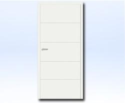 Innentüren weiß preise  Tür Weißlack Innentür Zimmertür weiß Mala V (05) | eBay